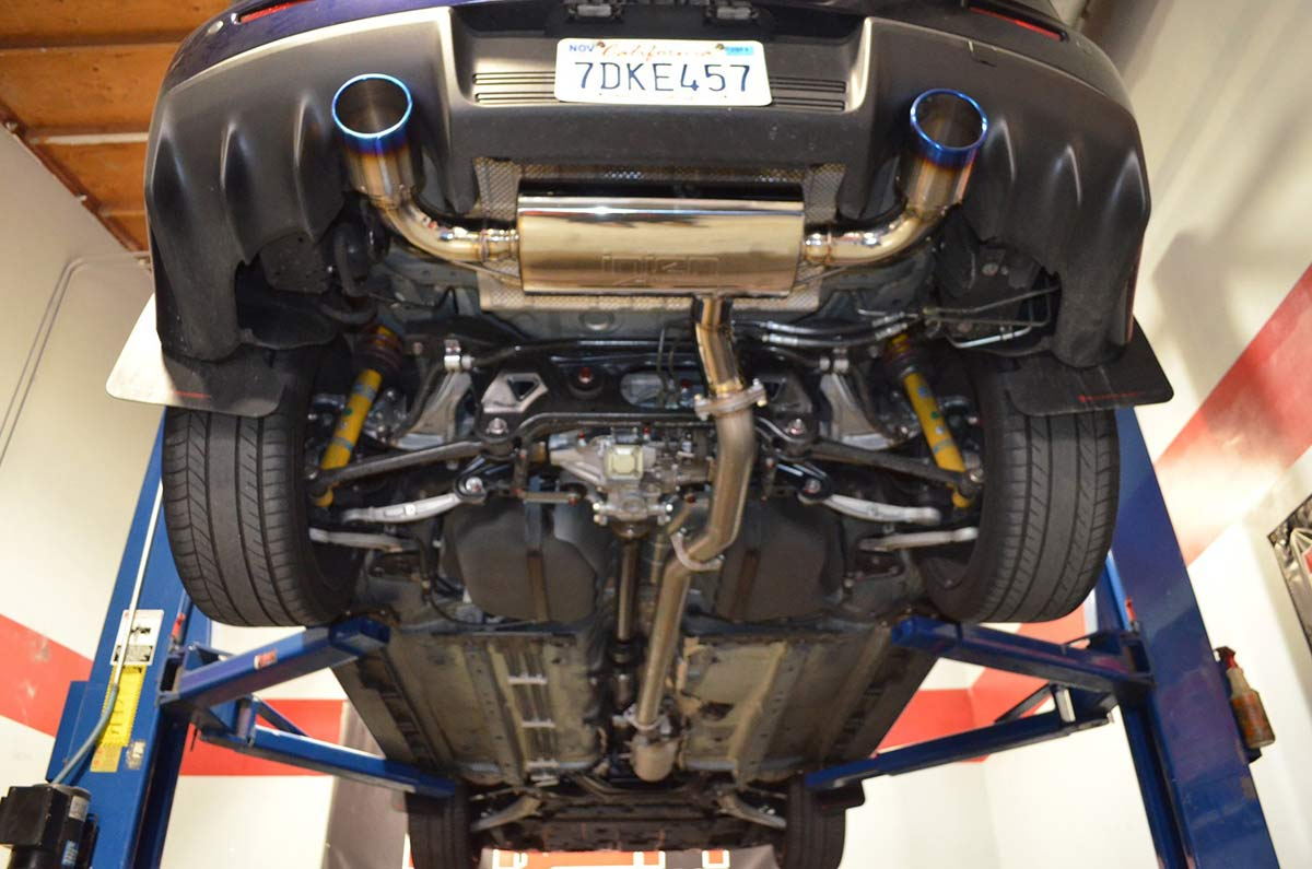 EVO-X Exhaust